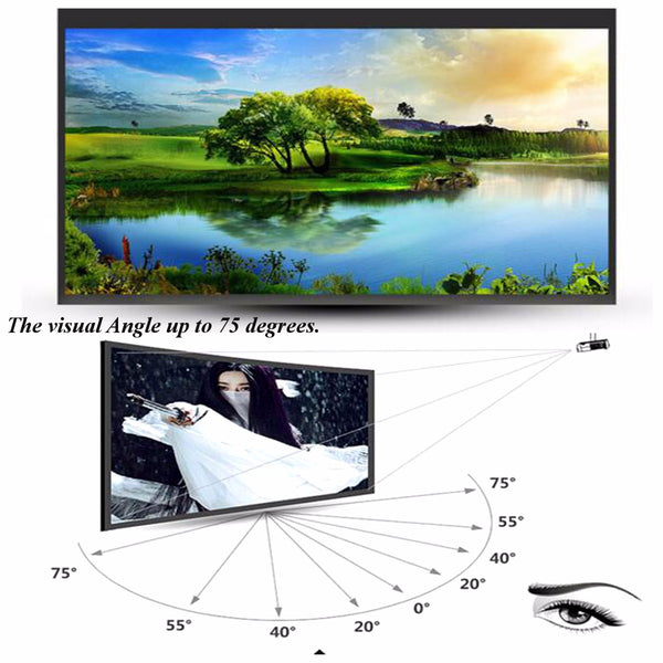 72 Inche Projection Film Projector Screen
