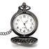 Deffrun Fashion Alloy Necklace Chain Quartz Pocket Watch