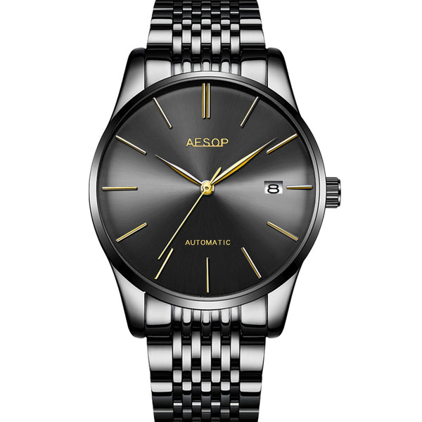 Aesop 1016G Business Style Automatic Mechanical Watch NO.4