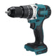 3 IN 1 18V Brushless Electric Drill Rechargeable Two-speed Impact Drill For Makita 18V Battery