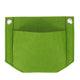 Wall Hanging Planting Bag Planter Garden Grow Bag-Green