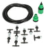 Garden Patio Water Misting Cooling System Lawn Sprinkler Nozzle Micro Irrigation Set