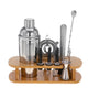 16Pcs Beautify Stainless Steel Cocktail Making Set Parisian Shaker Set Gift
