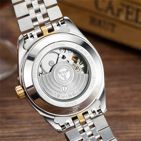TEVISE 629 Business Style Automatic Mechanical Watch NO.4