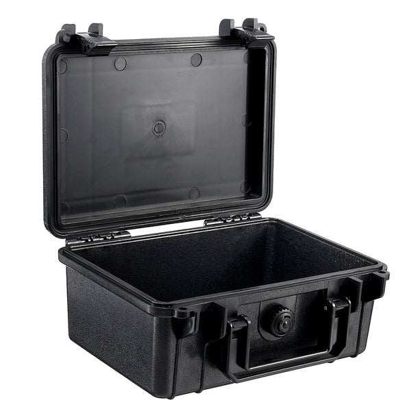 210x165x85mm Waterproof Hard Carry Camera Lens Photography Tool Case Bag Storage Box with Sponge