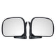 Car Manual Door Rearview Mirror with Glass Left/Right for Toyota Hiace H100 1989-2004 Right-hand Driving right