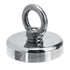 60mm 200KG Strong Magnet Neodymium 304 Steel Salvage Recovery Fishing Hook Tool with 20M Rope