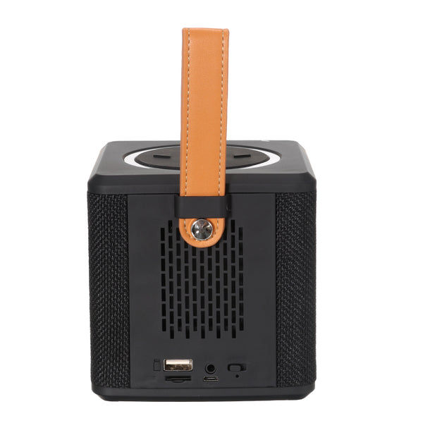1200mmAh Portable TF Card FM Radio U Disk AUX-in Hands-free Wireless bluetooth Speaker