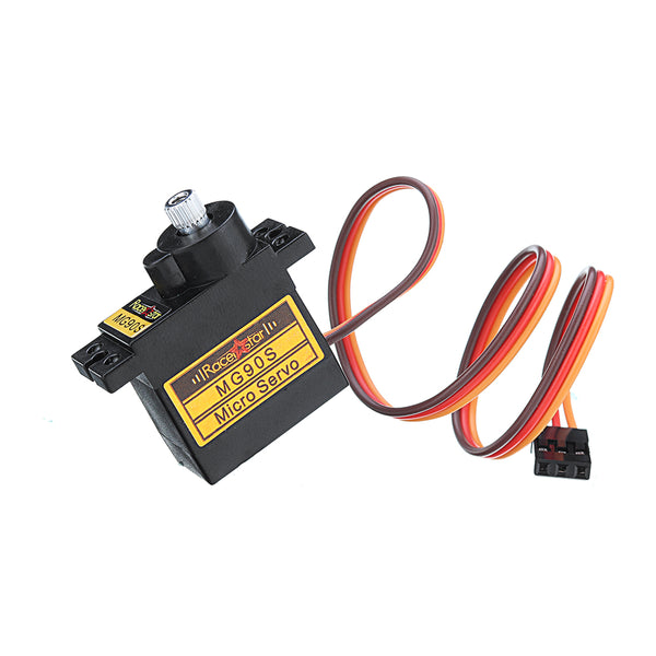 4PCS Racerstar MG90S 9g Micro Metal Gear Analog Servo For 450 RC Helicopter RC Car Boat Robot