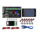 TF3.2 LCD Display Screen + MKS GEN V1.4 Mainboard Motherboard +MOS + 5x A4988 Driver + 6x Limit Switch Kit For 3D Printer