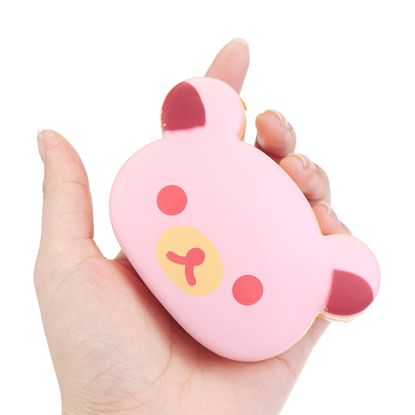 Squishy Easily Bear Hand Pillow 10CM Wrist Pad Toys Kawaii Expressions Christmas Gift