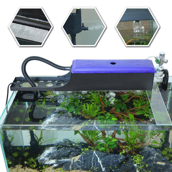 350/650L/H Submersible Oxygen Pump Aquarium Fish Tank External Water Filter #2