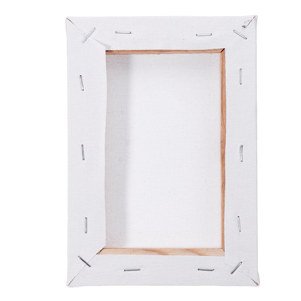 10Pcs White Blank Square Artist Canvas for Canvas Oil Painting Wooden Board Frame For Primed Oil Acrylic Paint