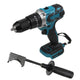 350 N.m Cordless Brushless Electric Hammer Driver Drill For Makita 18V Battery