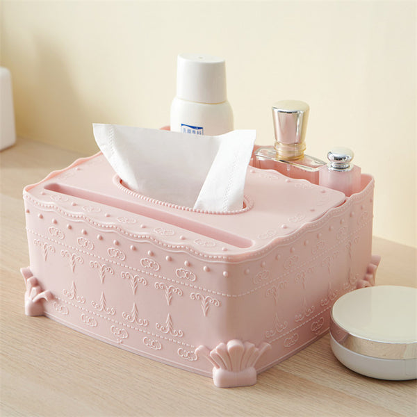 Tissue Storage Drawer Box Paper Holder Living Room Bathroom Holder