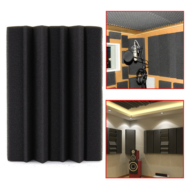 Studio Corner Soundproof Foam Acoustic Black Bass Trap Sound-absorbing Tile