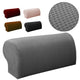 2PCS Premium Furniture Armrest Cover Sofa Couch Chair Arm Protectors Stretchy-Black