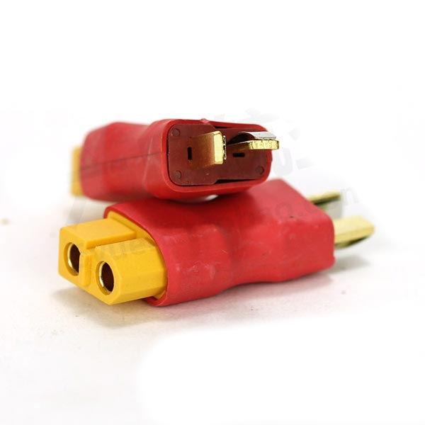 AMASS T Plug Male to XT60 Plug Female Connector