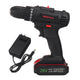 26V Electric Cordless Drill Driver Power Drill 2 Speed With LED Light-3