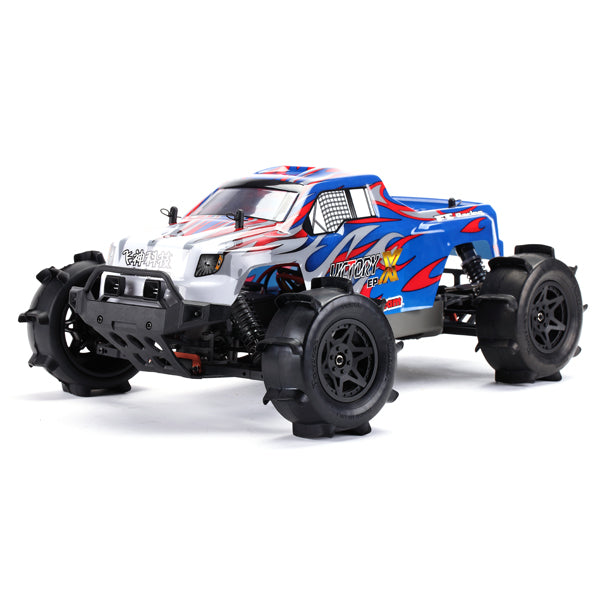 FS Racing FS-53692 RTR 1:10 2.4G 4WD Brushless 300A ESC Water Monster Truck RC Car Vehicles Model Blue