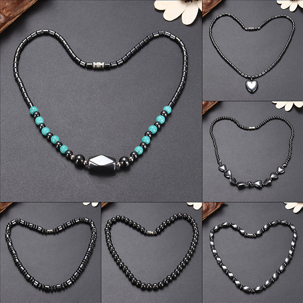 Anti Fatigue Magnetic Health Care Necklace Magnet Chain Jewelry Men Women Gift  6
