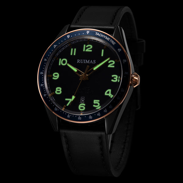 RUIMAS 573 Waterproof Luminous Display Quartz Watch NO.4