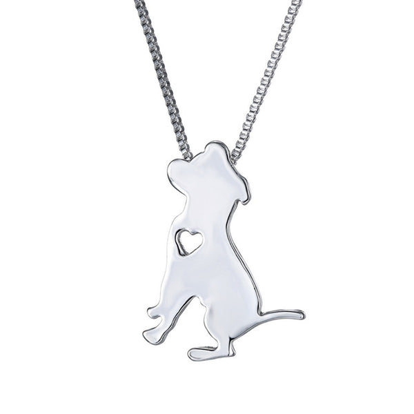 Puppy Dog Cute Lovely Animal Charm Friends Necklace Chain Jewelry 16