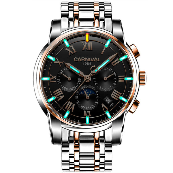 CARNIVAL C8799 Luminous Display Automatic Mechanical Watch NO.5