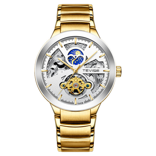 TEVISE T845B Metal Case Business Automatic Mechanical Watch NO.6