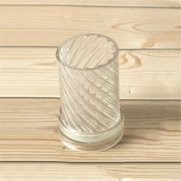Candle Mold Plastic Spiral Shape DIY Craft Tool For Wax Candle Mould Making #2