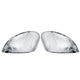 Chrome Light Car Door Rearview Wing Mirror Cover Cap Left/Right For Ford Fiesta MK7 2008-2017 Left