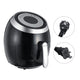 5.5L Electric Air Fryer Pan Chip Oil Free Oven Cooker Pot & Basket 1500W Home EU