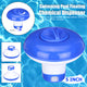 "5"" Swimming Pool Floating Chemical Dispenser Floater For Chlorine Tablet Tabs"