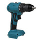 Dual Speed Brushless Electric Drill 10/13mm Chuck Rechargeable Electric Screwdriver for Makita 18V Battery-#2/Orange
