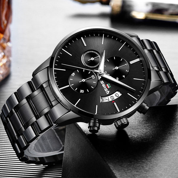 SWISH 917 3ATM Waterproof Luminous Display Quartz Watch NO.4