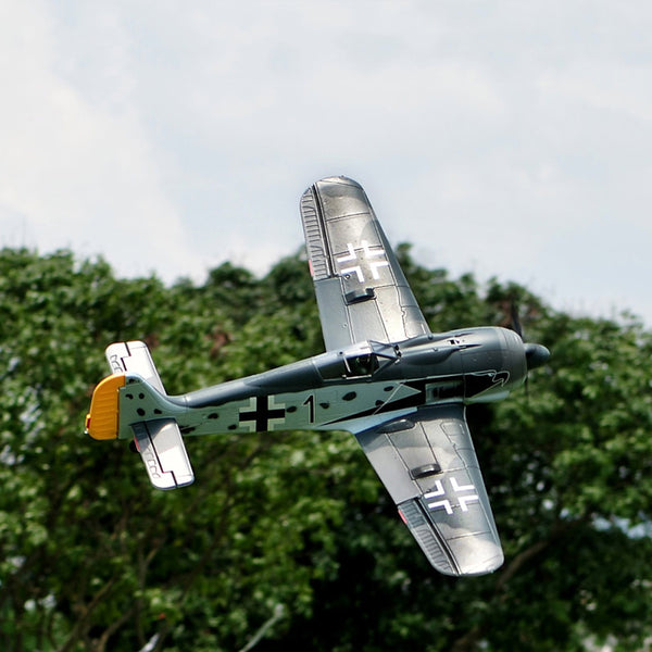 TopRC Focke-Wulf FW-190 Würger (Shrike) 1200mm/47in EPO Electric Warbird Scale RC Airplane KIT/PNP KIT