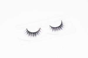 3D Mink Lashes – Mink Fur Natural Eyelashes – False Eye Lashes Little Glue Needed – 100% Handmade – 2 Pack with Lash Applicator – Long Natural Lash Extensions Black