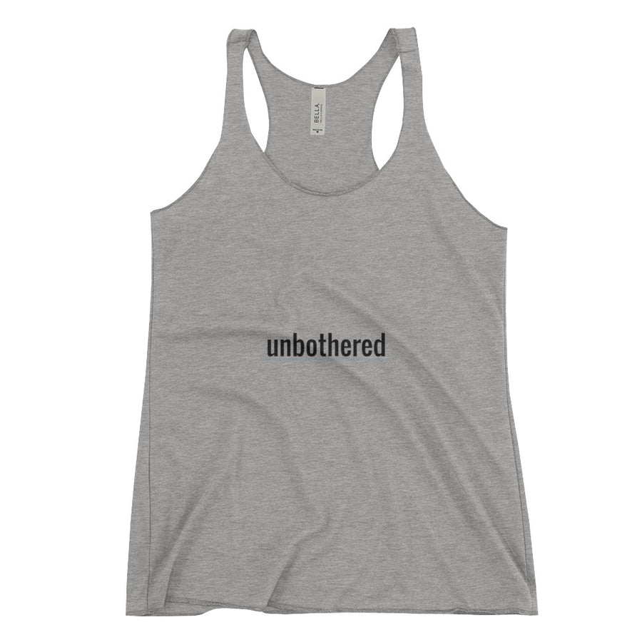 Unbothered | Women's Racerback Tank