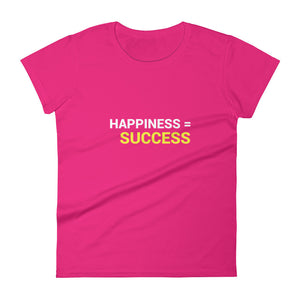 Success | Women's short sleeve t-shirt