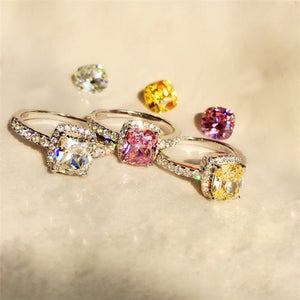 Sterling Silver Rings For Women | Trendy Bridal Jewelry