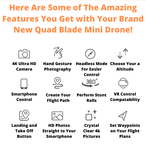 Mini Drone Features