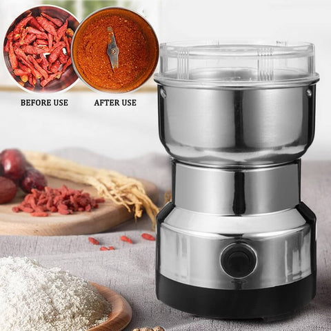 Stainless Steel Coffee and Spice Grinder