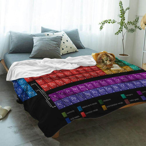 periodic table blanket
