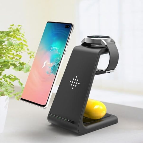3 in 1 Wireless Charger Hub