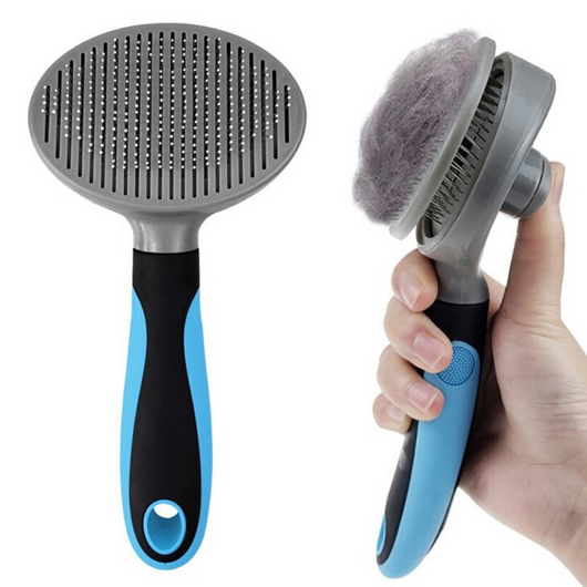 Self Cleaning Pet Slicker Brush