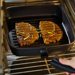 Non stick Griddle Pan with Removable Handle