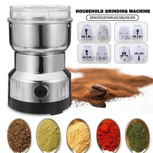 Super Charged Stainless Steel Coffee and Spice Grinder