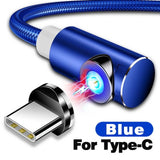 Magnetic LED Phone Charger Cable for iPhone and Android