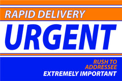 6 x 9 rapid delivery urgent envelope example