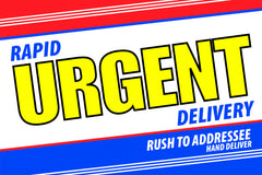 6 x 9 rapid urgent delivery envelope example